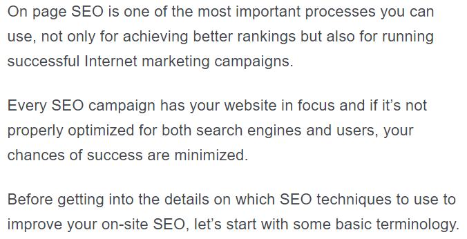On-Page SEO: Techniques to Rank Higher In Google