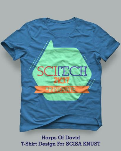 T-Shirt Design for Science Student's Association, KNUST