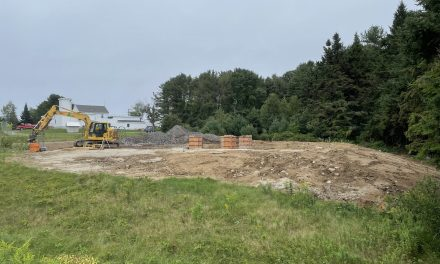 Construction begins on communications tower at Mitchell Field