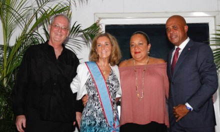 On Orr's Island, former ambassador wants to change minds about Haiti