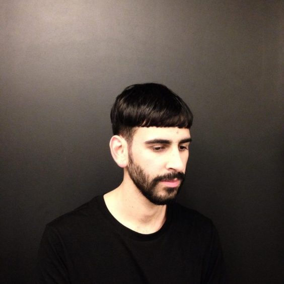 Top Medium Length Hairstyles Men - Bowl Cut Hairstyle for Adult Male - Harptimes.com