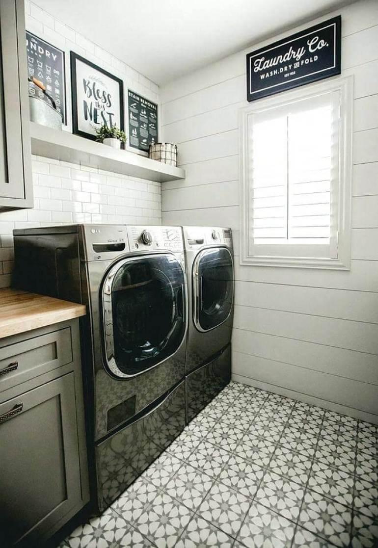 DIY Small Laundry Room Ideas - Patterns Do Better - Harptimes.com