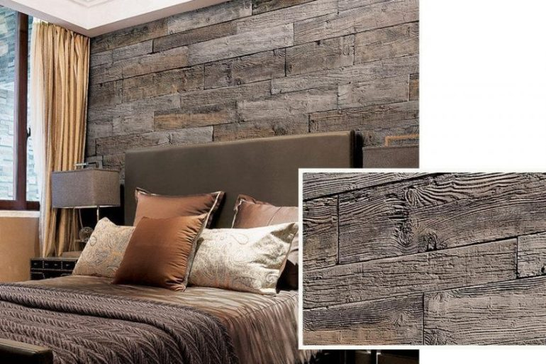 Rustic Accent Wall Ideas for Bedroom - Harptimes.com