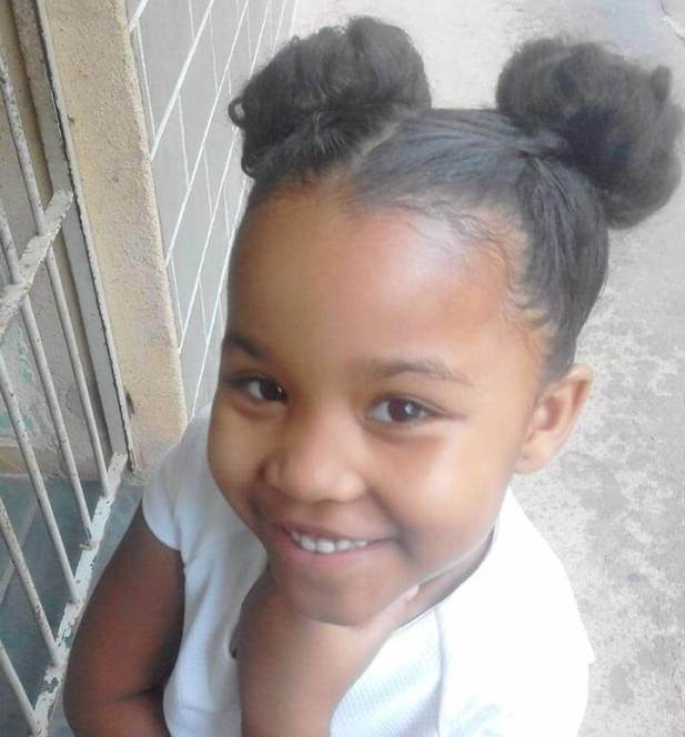 7. Kids Hairstyle Double Bun Girls Hairstyle - Harptimes.com