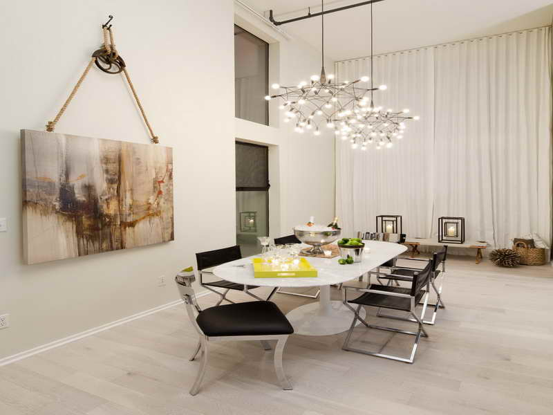 Superior Dramatic Painting Dining Room Wall Decor