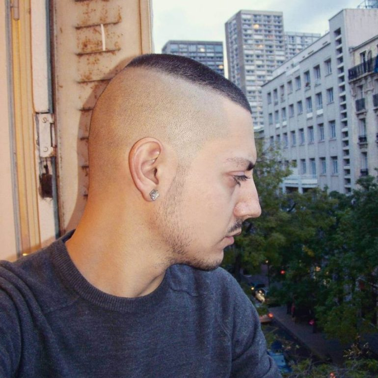 4. Indian military haircut -The Recon Military hairstyles for Men - Harptimes.com