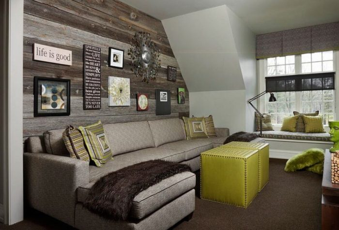 Accent Wall Ideas for Living Room: Let's Go Eclectic - Harptimes.com