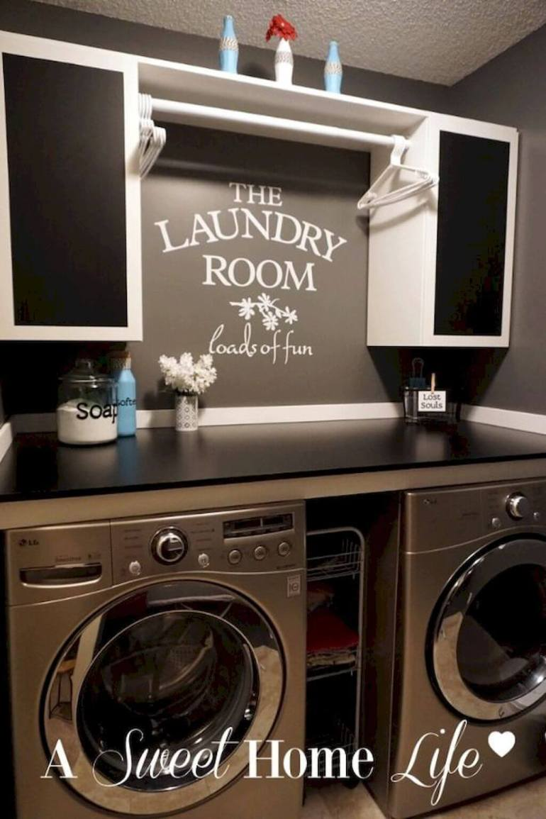 30 Best Small Laundry Room Ideas On A Budget That You