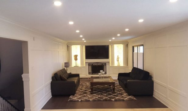 low basement ceiling ideas - 3. Remove crown molding (or keep it very thin) - Harptimes.com