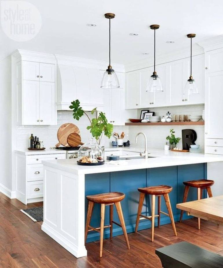 18. Farmhouse Country Kitchen Design - Harptimes.com