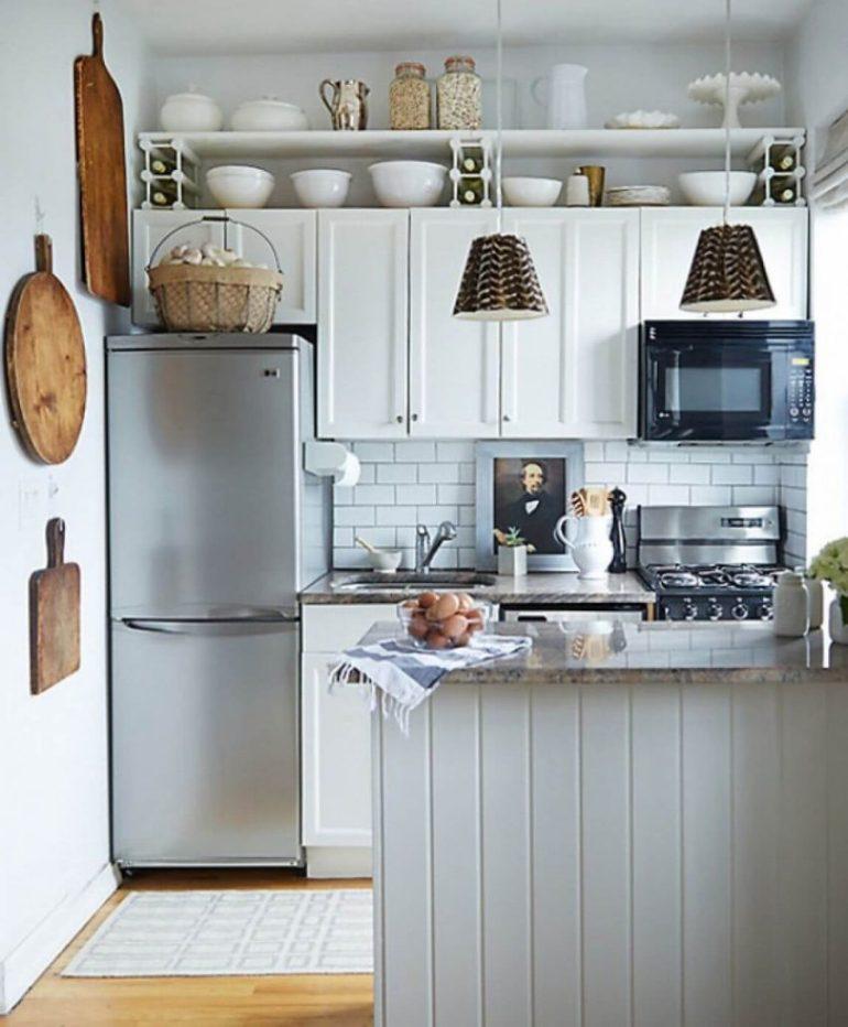 country kitchen decor ideas - 3. Attractive Small Kitchen Decor Ideas - Harptimes.com
