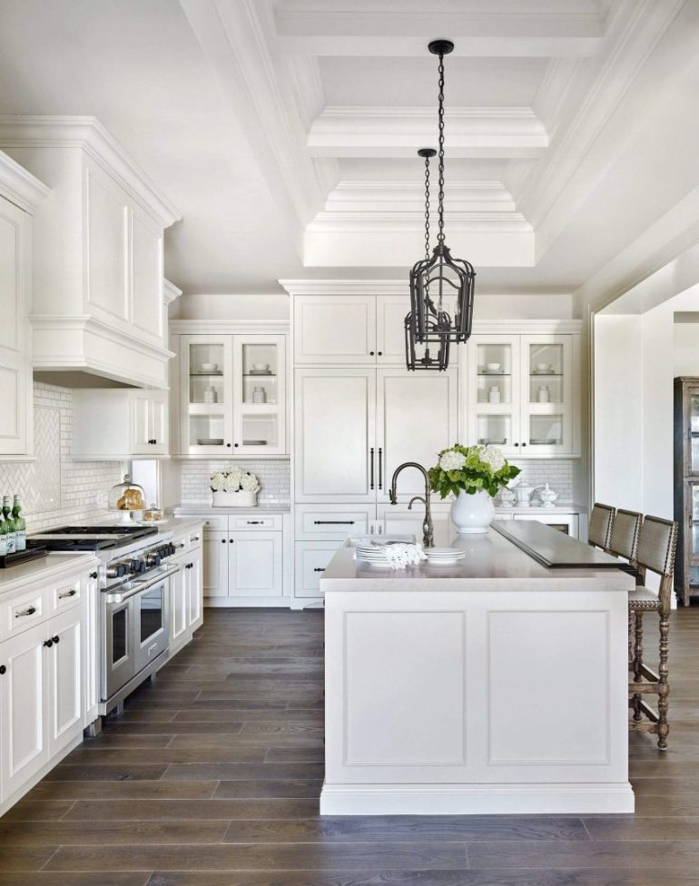 rustic kitchen decor ideas - 4. European Kitchen Cabinets - Harptimes.com