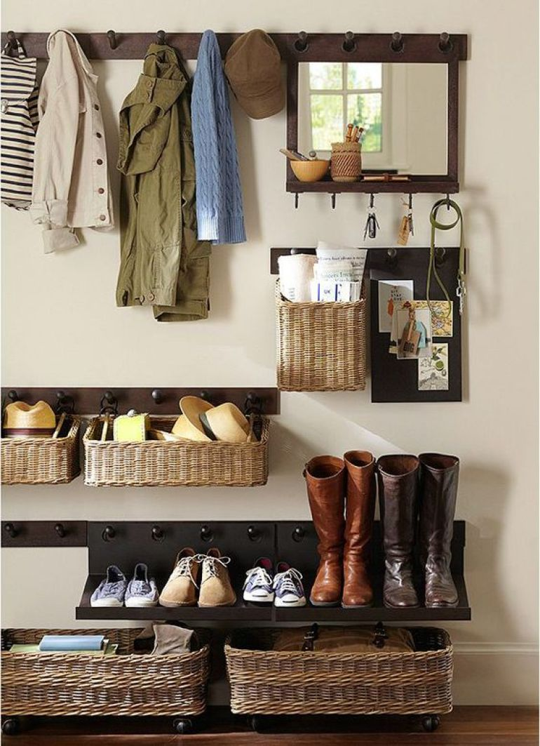 laundry mudroom ideas - 1. Inspiring Entryway Storage Ideas - Harptimes.com