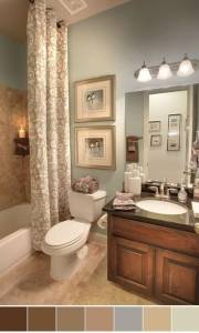 Best Paint Colors For Dark Bathrooms