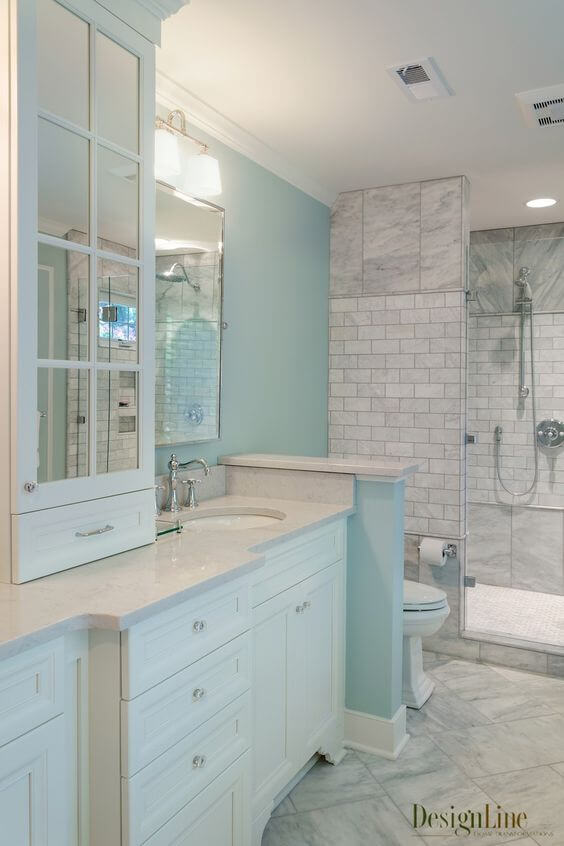 Bathroom Color Paint Ideas Coastal Style Master Bathroom Ideas