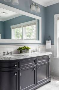 Best Blue Grey Paint Color For Bathroom