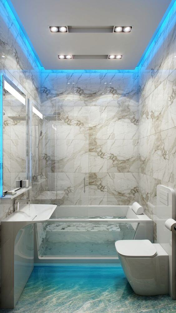 Bathroom Lighting Ideas Amazing Ceiling Design for Bathroom - Harptimes.com