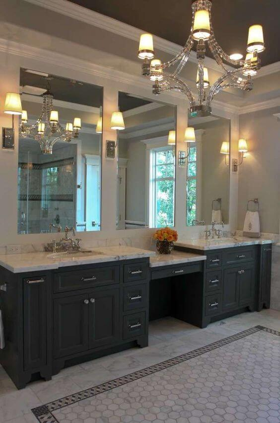 Bathroom Lighting Ideas Stylish Chandelier for Bathroom