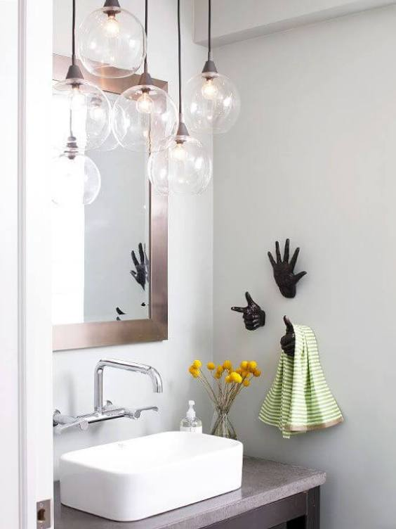 Bathroom Lighting Ideas Unique Industrial Light Fixture - Harptimes.com