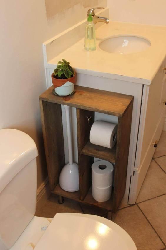 Bathroom Storage Ideas Small Sink-Side Cabinet - Harptimes.com