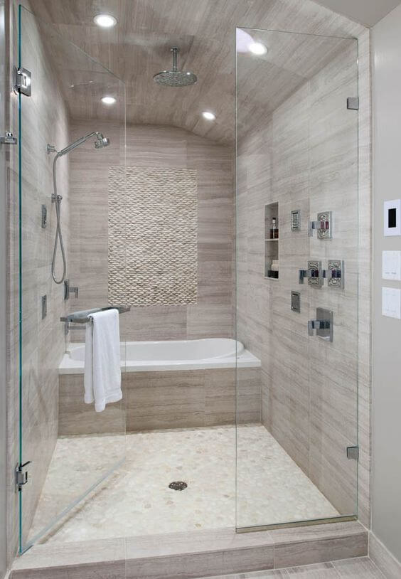Big Walk-In Shower Master Bathroom Ideas - Harptimes.com