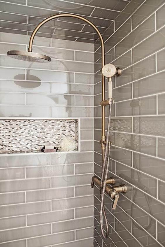 Full Subway Walk In Shower Tile Ideas - Harptimes.com