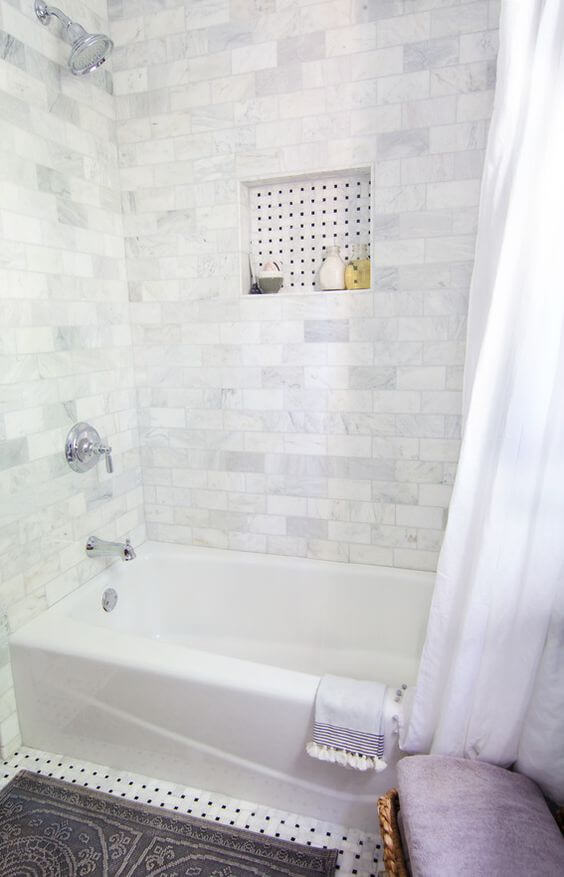 Marble Subway Tile forWalk In Shower Tile Ideas Area - Harptimes.com