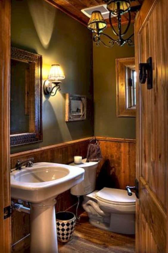 Rustic Bathroom Ideas Rustic Country Wall Decor - Harptimes.com