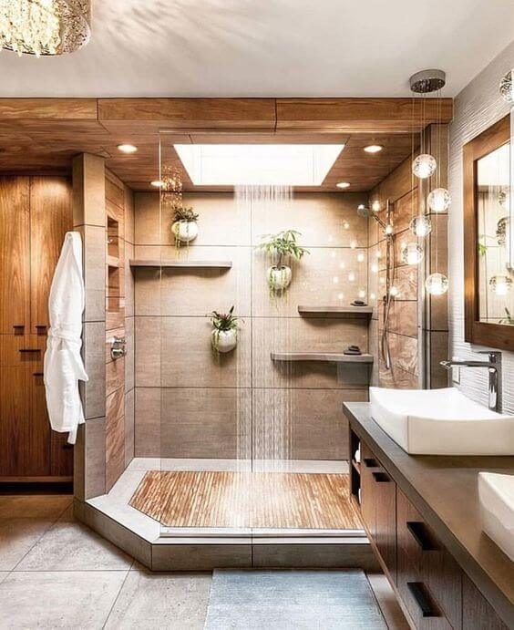 See-Through Master Bathroom Ideas Floor - Harptimes.com