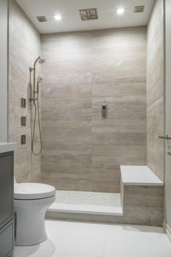 Walk In Shower Tile Ideas Luxury Shower Tile in a Clean White Bathroom - Harptimes.com