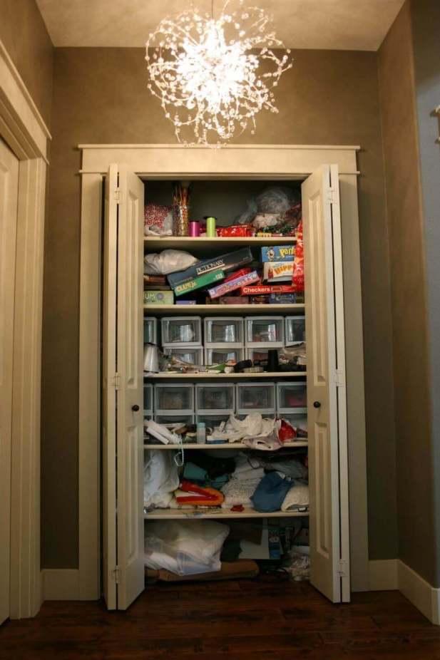 Basement Storage Closet Ideas