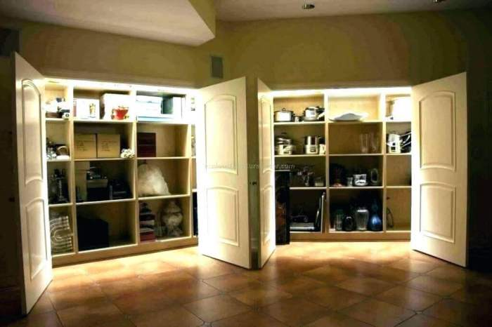 Closet Basement Storage Ideas
