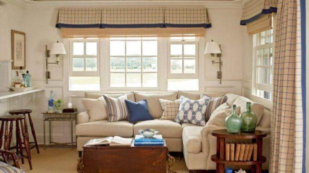 Curtains for Farmhouse Living Room Ideas
