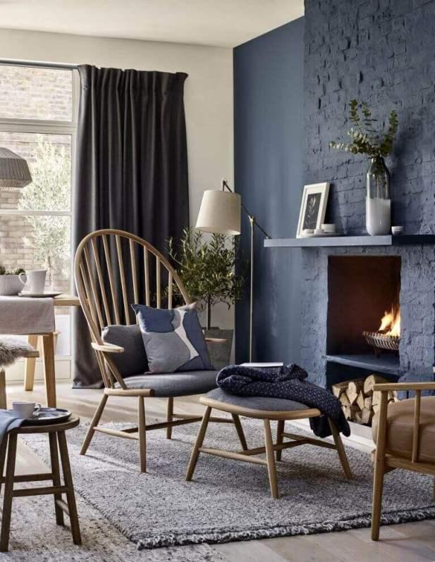 Heavy Curtain Design for Living Room Ideas