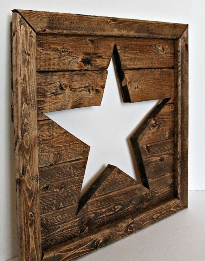 Rustic Wood Art Wall Ornament Ideas