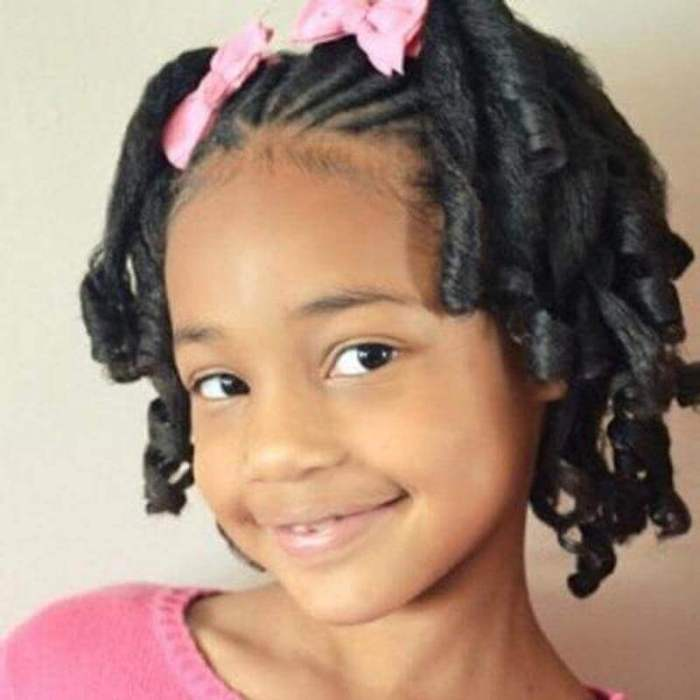 Shirley Temple Curls for Little Black Girls Hairstyles