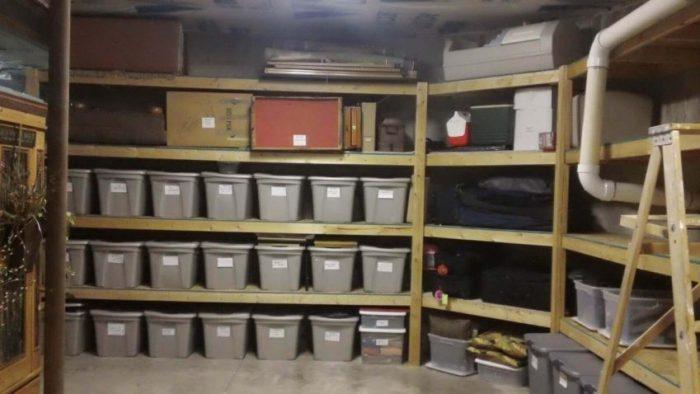 Unfinished Basement Storage Ideas On a Budget