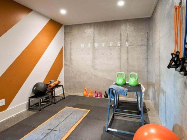 Basement Finishing Ideas for Underground Home Gym