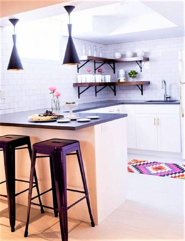 Small Kitchen Space Basement Finishing Ideas
