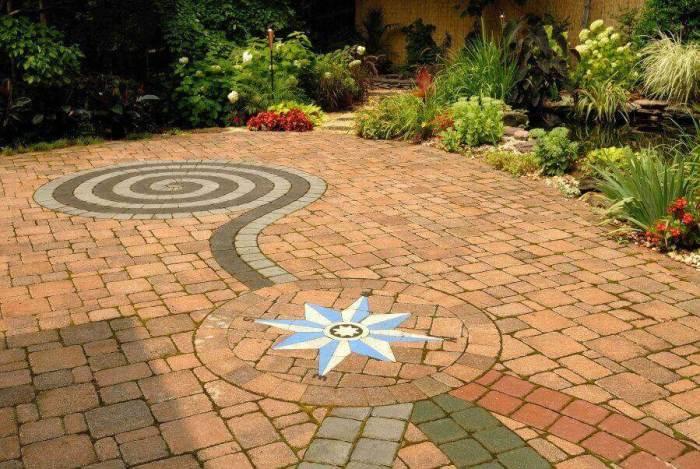 Paver Patio Ideas - Driveway Paver Art - Harptimes.com
