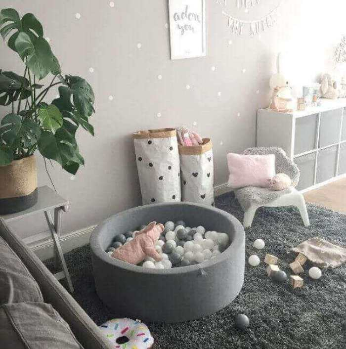 Baby Room Ideas in Gray Tones - Harptimes.com