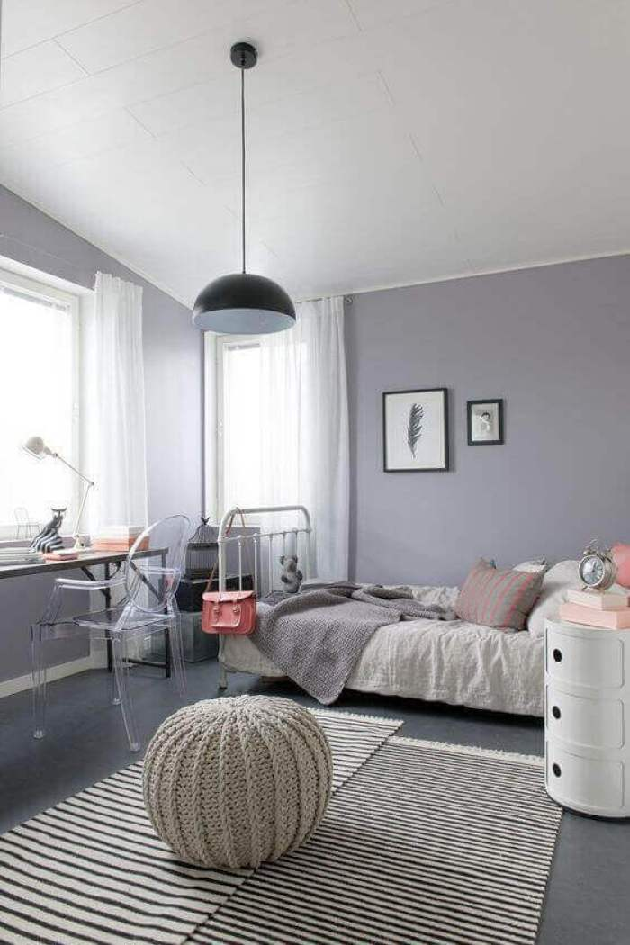 Big Girl Bedroom Ideas Grey with Bohemian Style - Harptimes.com