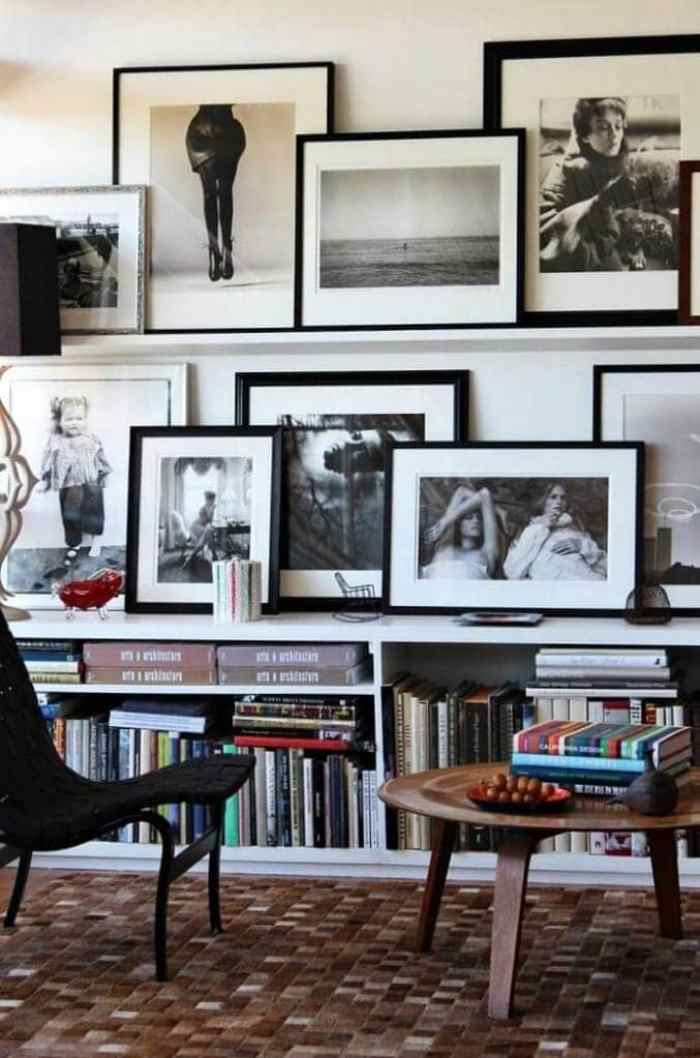 Gallery Wall Ideas with Shelves