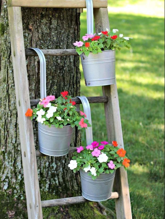 Gardening Ideas for Small Yards Use Upwards Spaces - Harptimes.com