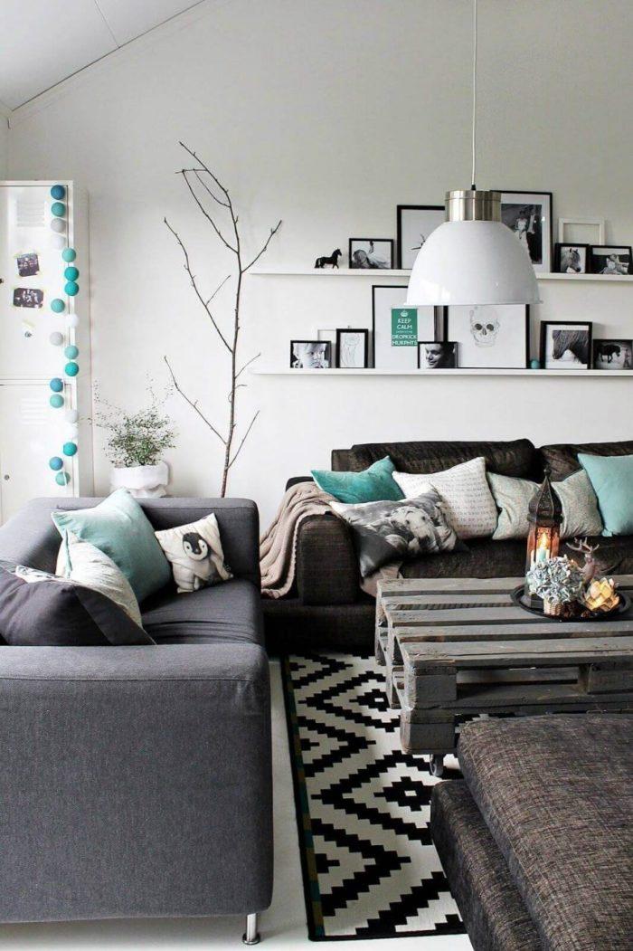 Living Room Ideas for Grey Sofa