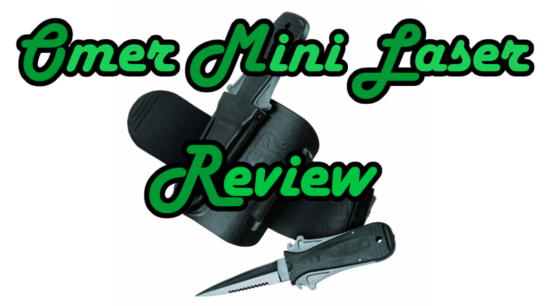 Omer Mini Laser Review Minilaser Diver Knife Diverknife Tauchen Tauchermesser tauchen diving