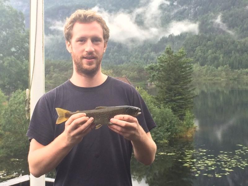 Süßwasser angeln Norwegen Forellen Saiblinge Hecht