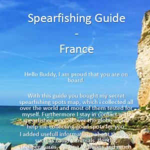 Spearfishing France North France Frankreich Calais Bretagne Basse Haute Normandie Speerfischen