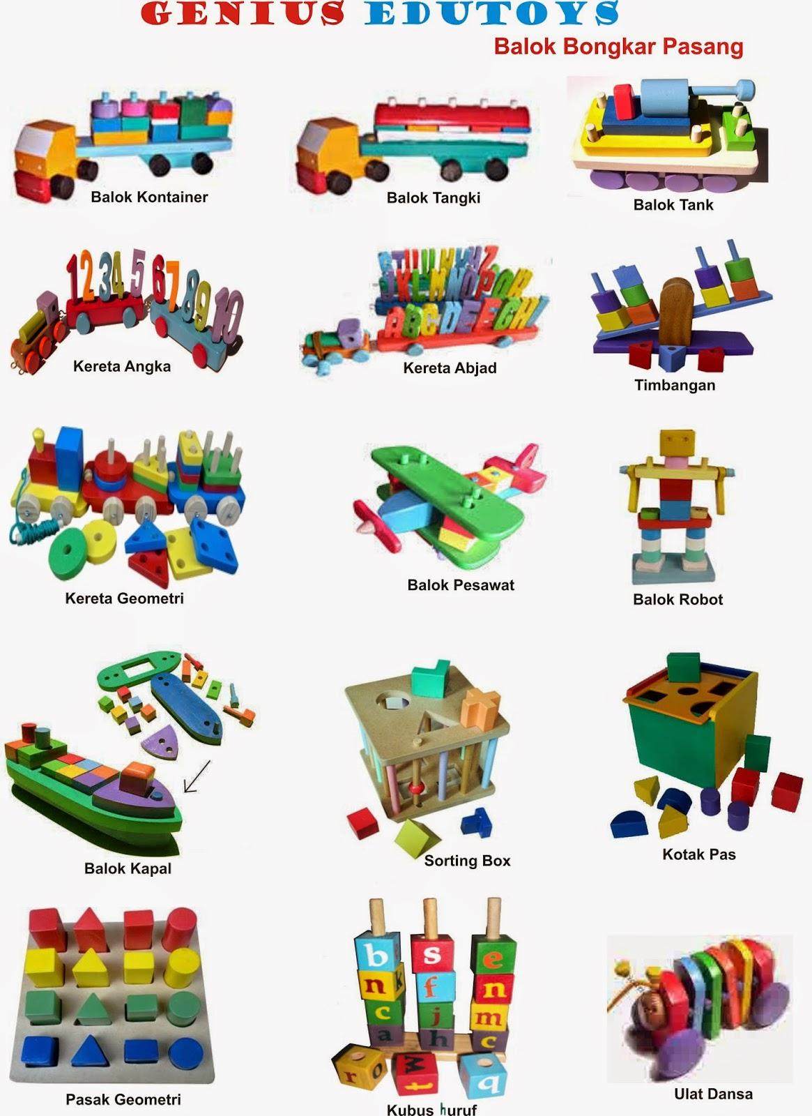 Jenis Permainan Membantu Tumbuh Kembang Anak