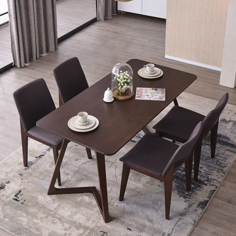 model meja kayu